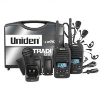 Uniden UH850S (Tradies Twin Pack) 5W