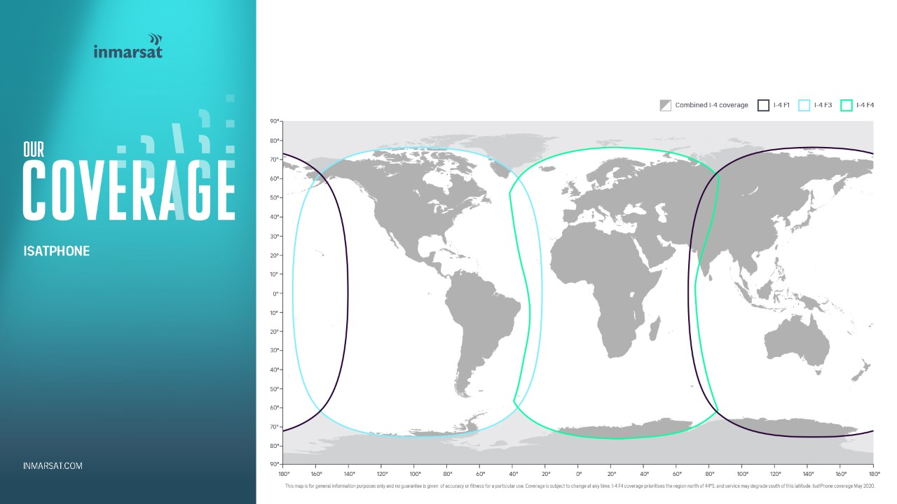 Inmarsat Network Coverage