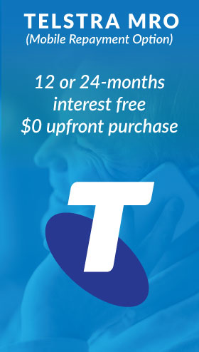 Telstra Mobile Repayment Option 24-months interest free $0 upfront purchase